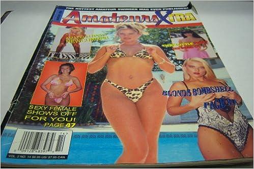 Busty blonde bikini bombshell
