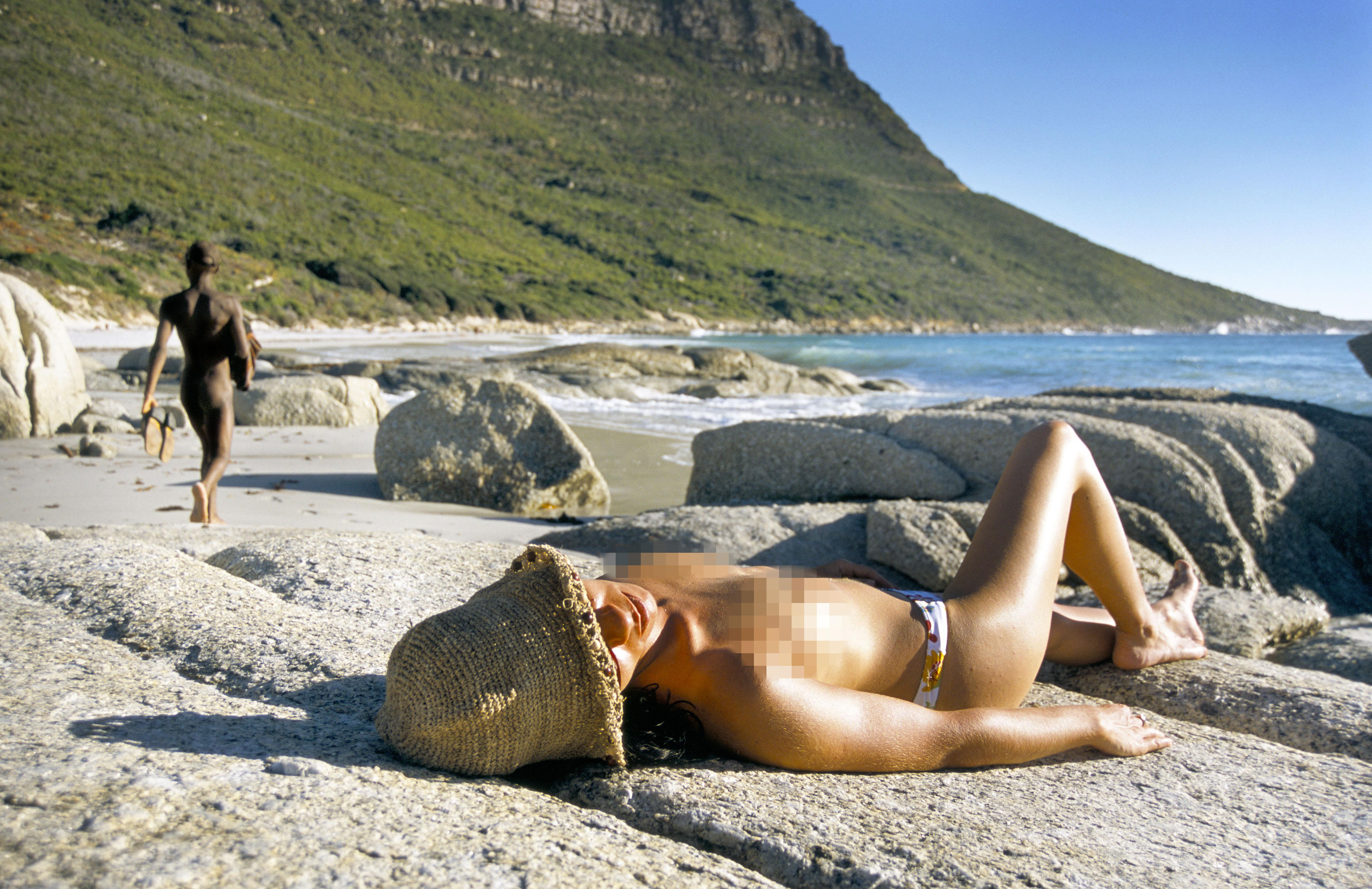 Nude beaches uncensored naked