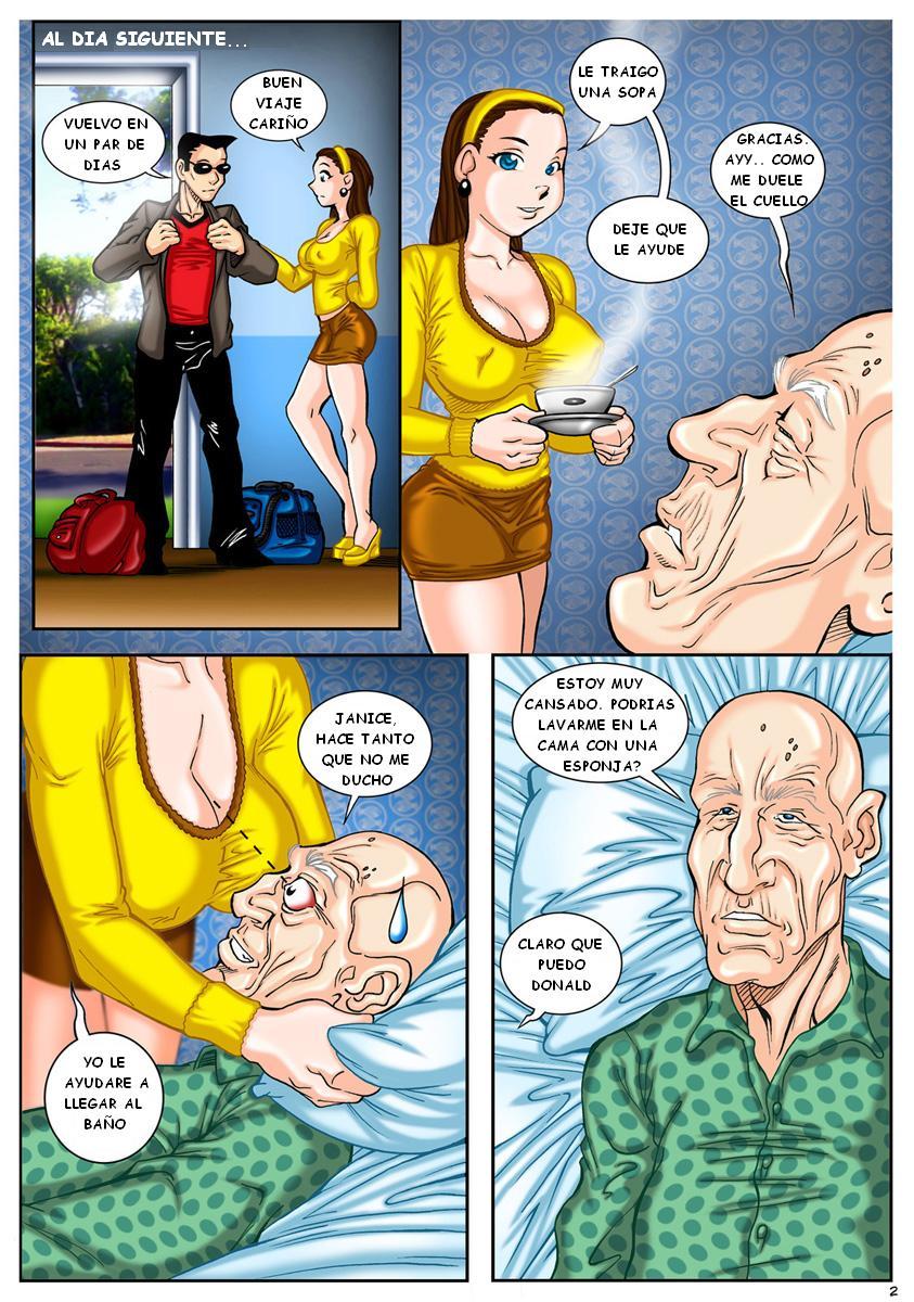 Comic porno mature daddy