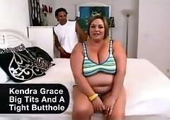 Kendra grace bbw interracial