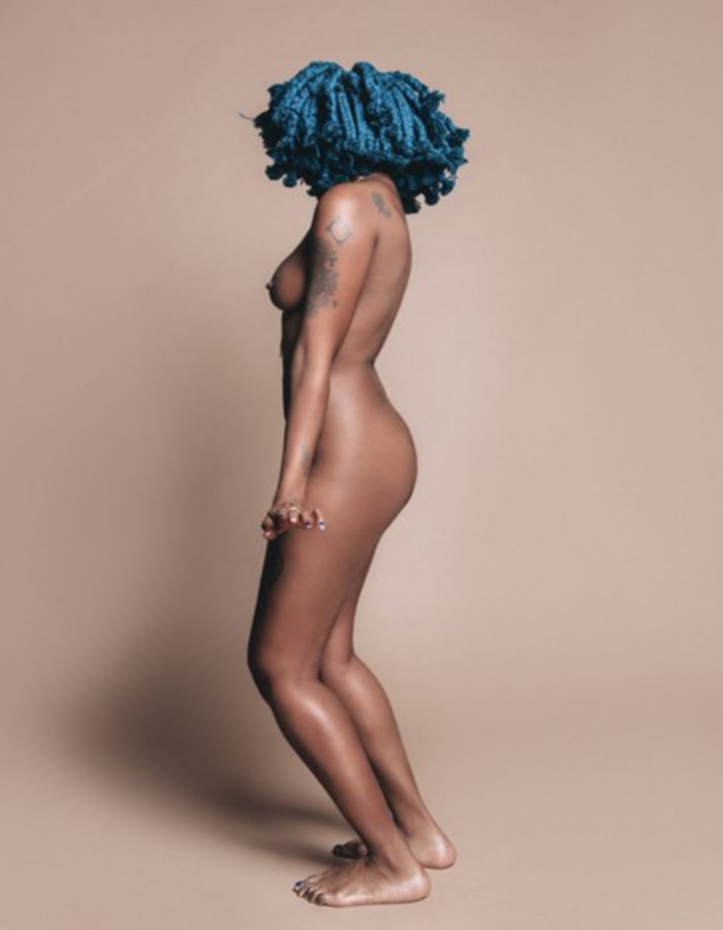 South african naked celeb