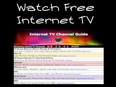 Stream tv internet free software adult