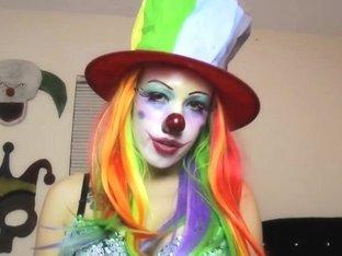 Women clowns topless porn