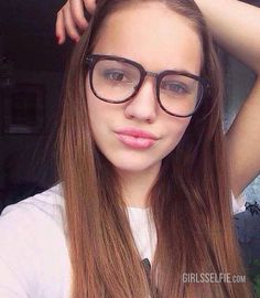 Amateur girls with glasses