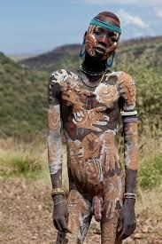 Nude african tribal man big penis