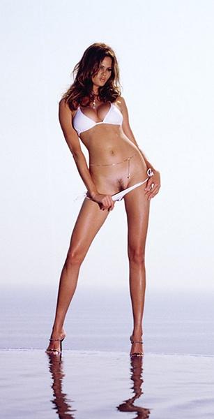 Tall playboy model nude