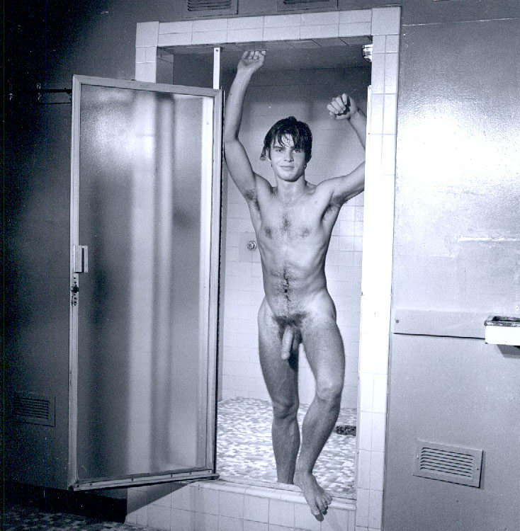 Boy nude picture in shower