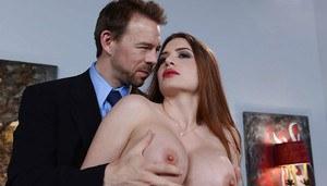 Sucking tits latina big
