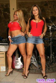Spice twins mini skirt