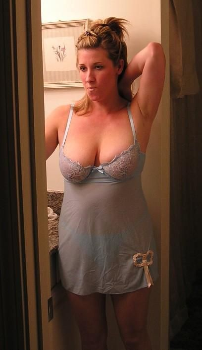Mature milf sheer lingerie