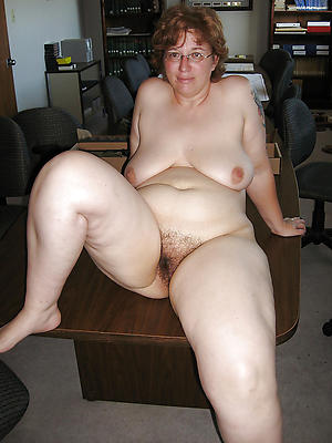 Naked middle aged women chubby