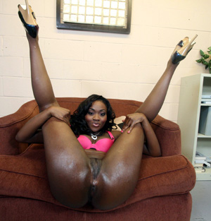 Big black women spread