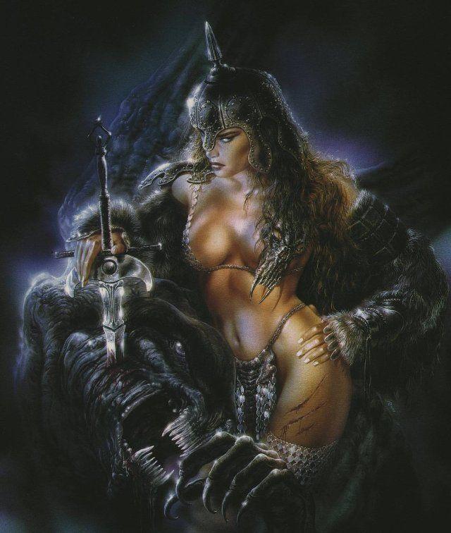 Fantasy naked sexy art