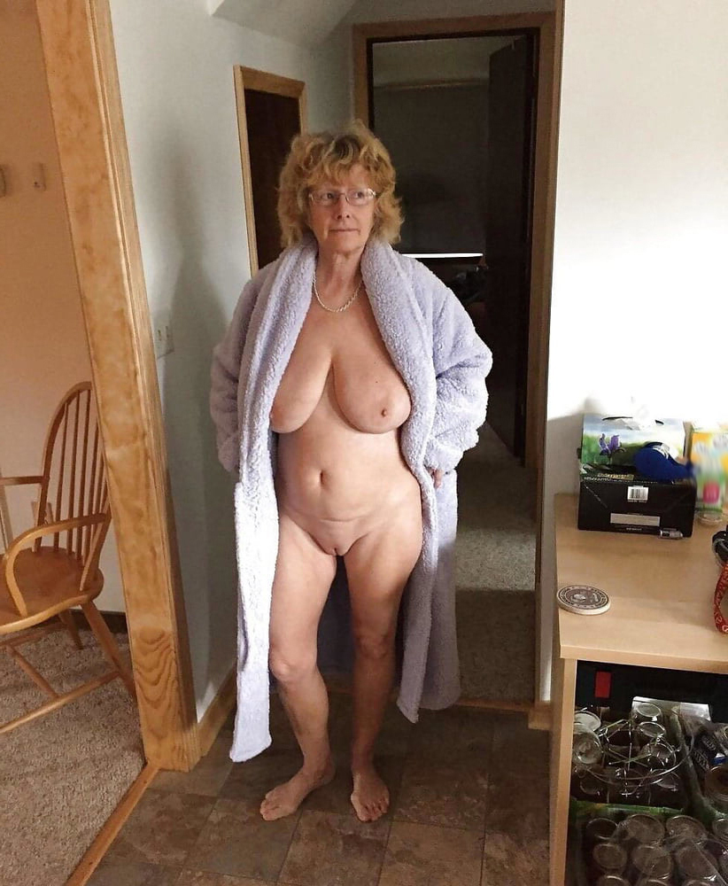 Nude woman over 60