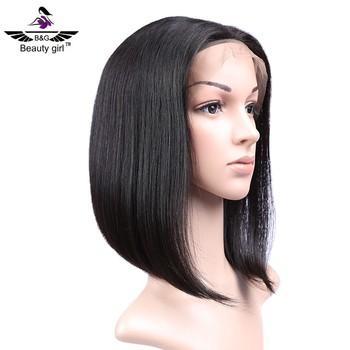 Short bob wigs human hair black women