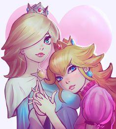 Daisy x rosalina x peach hentai