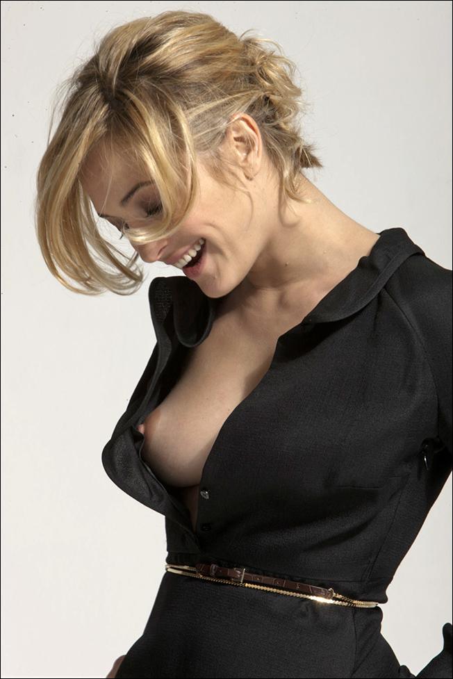 Open shirt tits