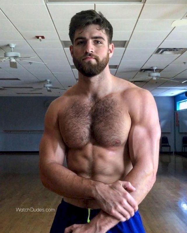 Hot hunk nude men