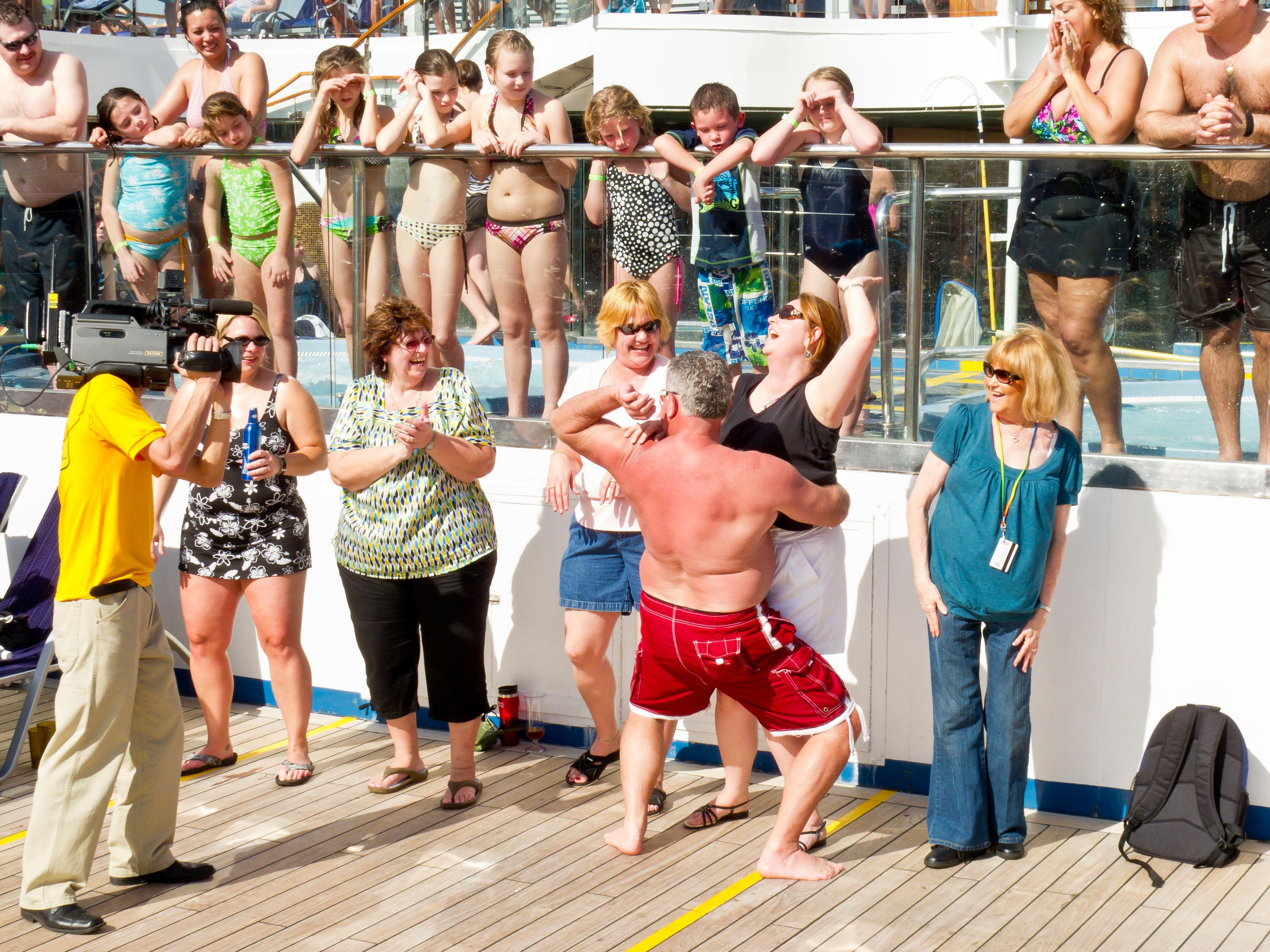 Girls cruise ship sex