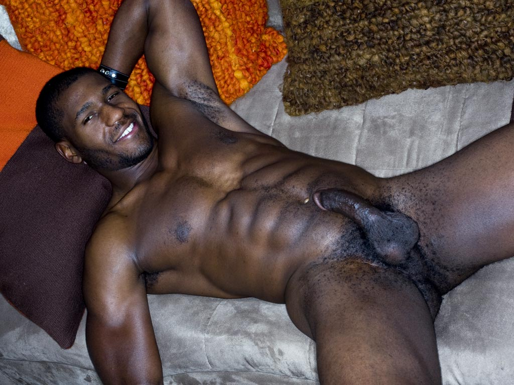 Nude black men porno