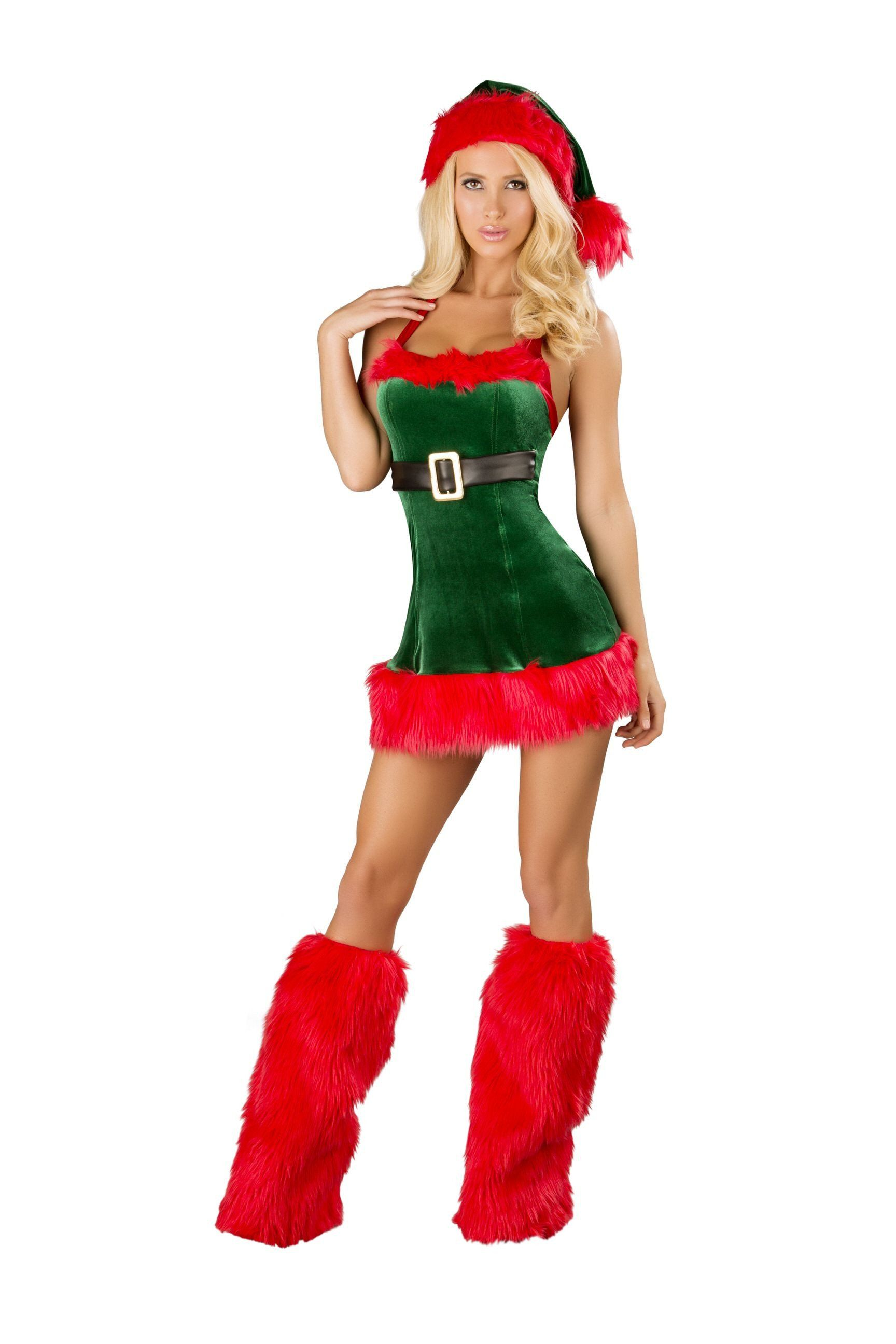 Hot girls in naughty santa outfits
