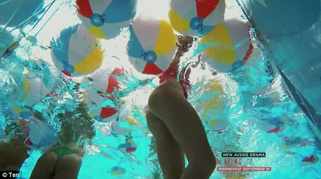 Underwater upskirt swimming photos
