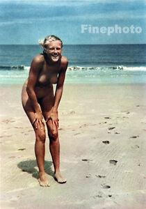 Vintage nudist naturist families