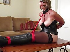 Real mature wife bondage