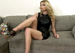 Fucked secretary stockings high heels