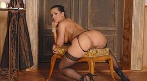 Dirty panties down ass